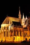 Église de Matthias à Budapest photos libres de droits