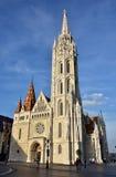 Église de Matthias à Budapest images stock