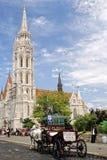 Église de Matthias à Budapest, Hongrie Photographie stock libre de droits