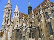Église de Matthias Photo libre de droits