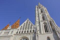 Église de Matthias, Budapest Images stock