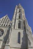 Église de Matthias, Budapest Photographie stock libre de droits