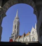 Église de Matthias, Budapest Photos stock