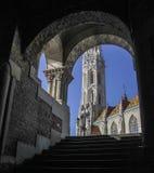 Église de Matthias, Budapest Image stock