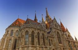Église de Matthias, Budapest, Hongrie Photo libre de droits