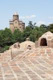 Église de Metechi, Tbilisi, la Géorgie Photographie stock