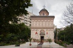 Église de Mihai Voda - Bucarest Images libres de droits