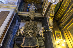 Église de Miracoli de dei de Santa Maria, Rome, Italie Images libres de droits