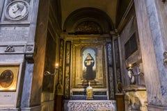 Église de Miracoli de dei de Santa Maria, Rome, Italie Photographie stock libre de droits