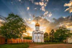 Église de monastère d'ugresha de Nicholas d'ugresha de St Pimen photographie stock libre de droits