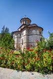 Église de monastère de Cozia un jour ensoleillé d'été Photos stock