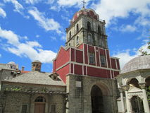 Église de monastère sur le mont Athos Image libre de droits