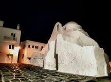 Église de Mykonos Images libres de droits