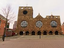 Église de Neoroman de James, fils de Zebedee, Enschede images libres de droits