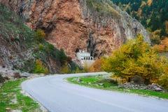 Église de Nikolaos de saint en montagne de Pindos photo libre de droits