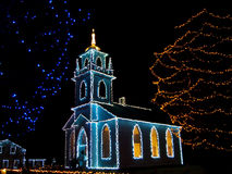 Église de Noël Photo stock