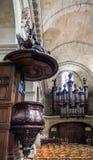 Église de Notre-Dame en Bordeaux, France photo stock