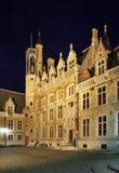 Église de notre Madame à Bruges flanders belgium images stock