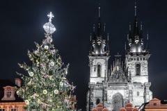 Église de notre Madame avant Tyn à Prague, République Tchèque Images libres de droits