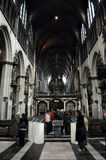 Église de notre Madame à Bruges, Belgique Images stock