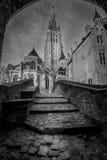 Église de notre Madame Bruges Belgique Photos libres de droits