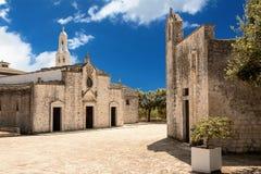 Église de notre Madame d'Ibernia dans Cisternino images libres de droits