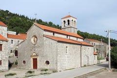 Église de notre Madame de la neige photos stock