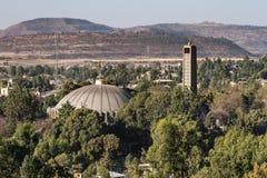 Église de notre Madame St Mary de Zion Axum, Ethiopie images libres de droits