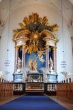 Église de notre sauveur, Copenhague Image libre de droits