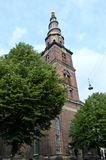 Église de notre sauveur, Copenhague, Danemark Photos stock