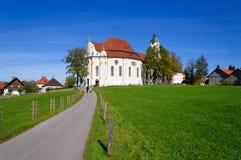 Église de pélerinage de Wies image libre de droits