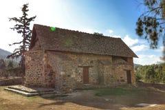 Église de Panagia Asinou Photographie stock libre de droits