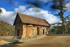 Église de Panagia Asinou Images libres de droits