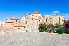 Église de Panagia Ekatontapyliani, Paros Photo stock