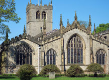 Église de paroisse de Kendal Image stock