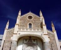 Église de paroisse de rue Jerome Photo libre de droits
