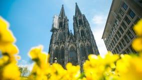 Église de point de repère Cologne, merveilleuse Photo libre de droits