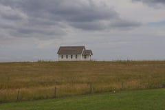 Église de prairie Images libres de droits