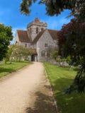 Église de priory de Boxgrove photo stock