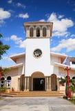 Église de Puerto Morelos photos stock