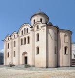 Église de PyrohoshÑha à Kiev Image libre de droits