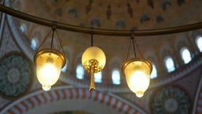 Église de religion de lampe banque de vidéos
