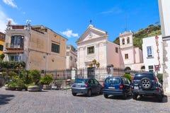 Église de Restituta de saint, Lacco amen Photographie stock