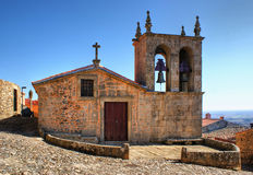 Église de Rocamador en Castelo Rodrigo Photo libre de droits