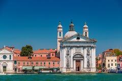 Église de Rosario de del Santa Maria à Venise Image libre de droits