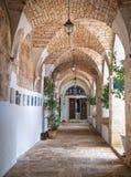 Église de rue Antonio. Martina Franca. Apulia. Photographie stock libre de droits