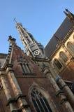 Église de rue Bavo - Haarlem,   Images stock