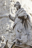 Église de rue Charles (Karlskirche) à Vienne, Autriche images libres de droits