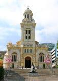 Église de rue Charles, Monaco Photographie stock libre de droits