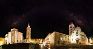 Église de rue Donat, Zadar, Croatie images stock